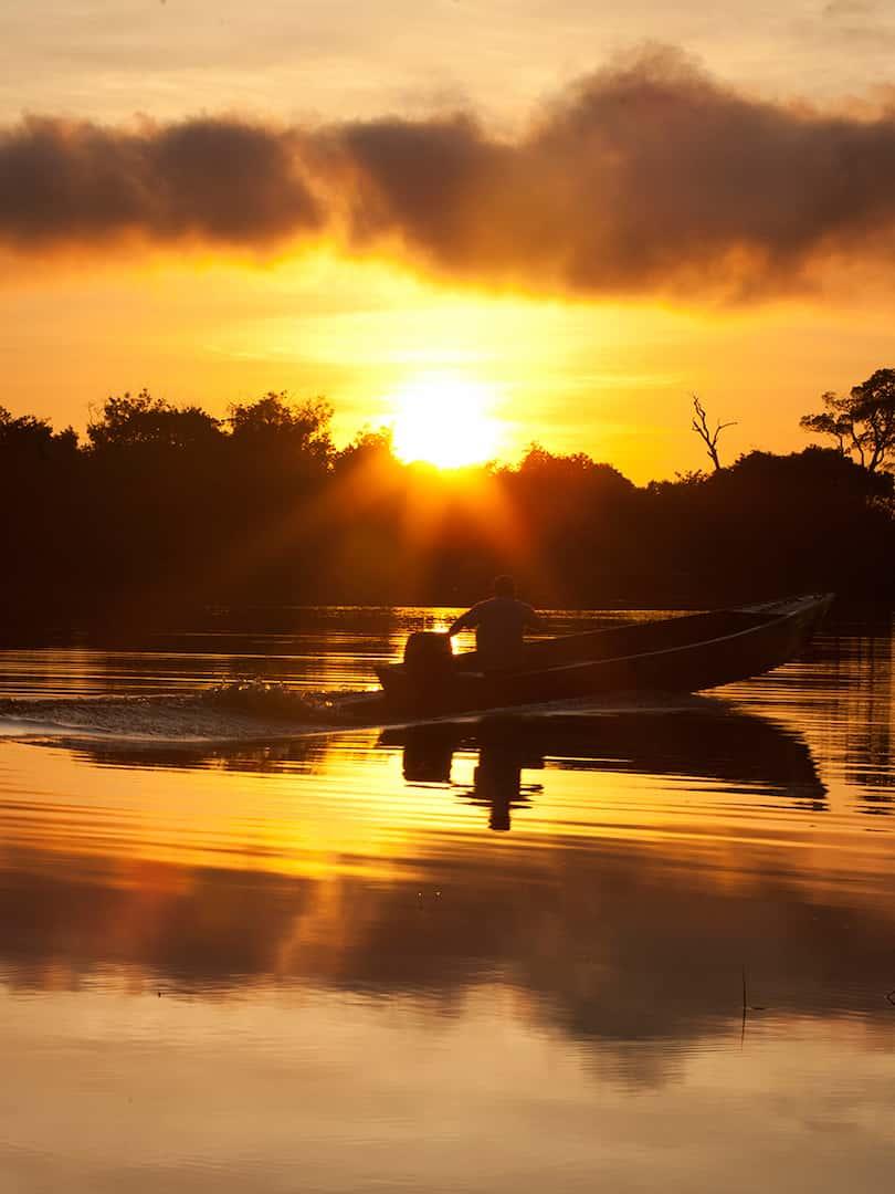 Navigazione del Rio delle Amazzonia