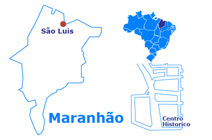 Mapa City Tour of São Luis