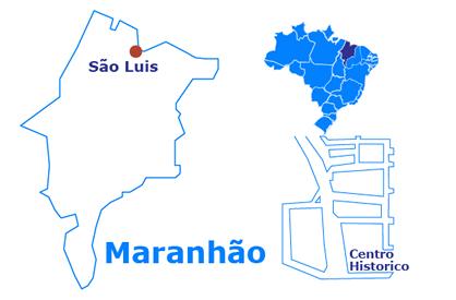 Mapa City Tour di São Luis